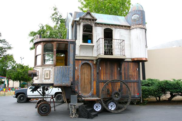 Дом на колёсах под старену