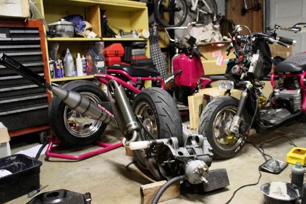 ремонт и плановое ТО мотоциклов