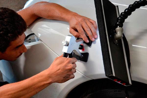 Процедура косметического ремонта авто