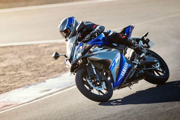 Yamaha YZF-R125 тест на треке