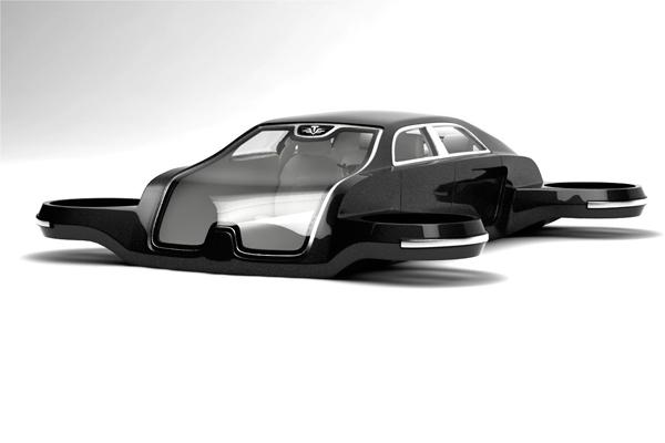 Квадрамобиль Tesla model T